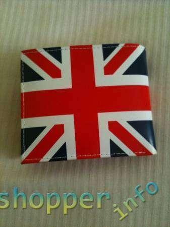 Aliexpress: Кошелек с флагом Англии
