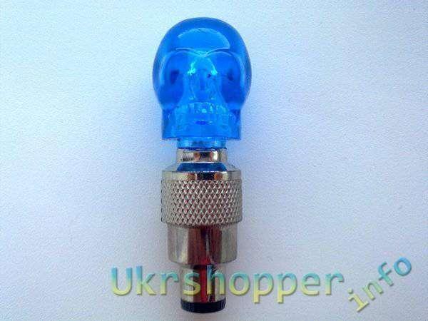 TinyDeal: LED лампы в виде черепа