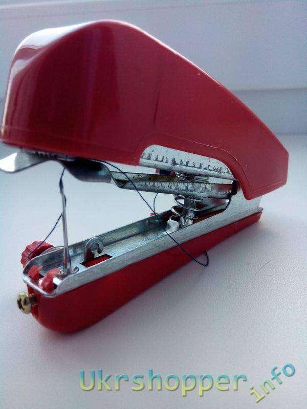 TinyDeal: Мини швейная машинка