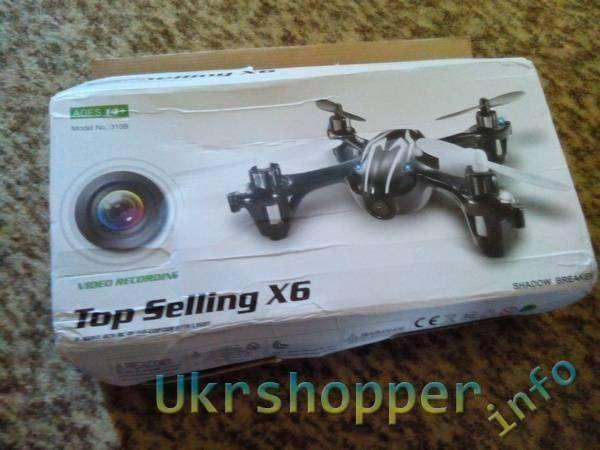 TinyDeal: Квадрокоптер Top Selling X6
