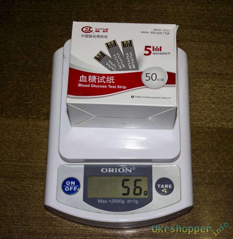 Aliexpress: Тест полоски для китайского глюкометра