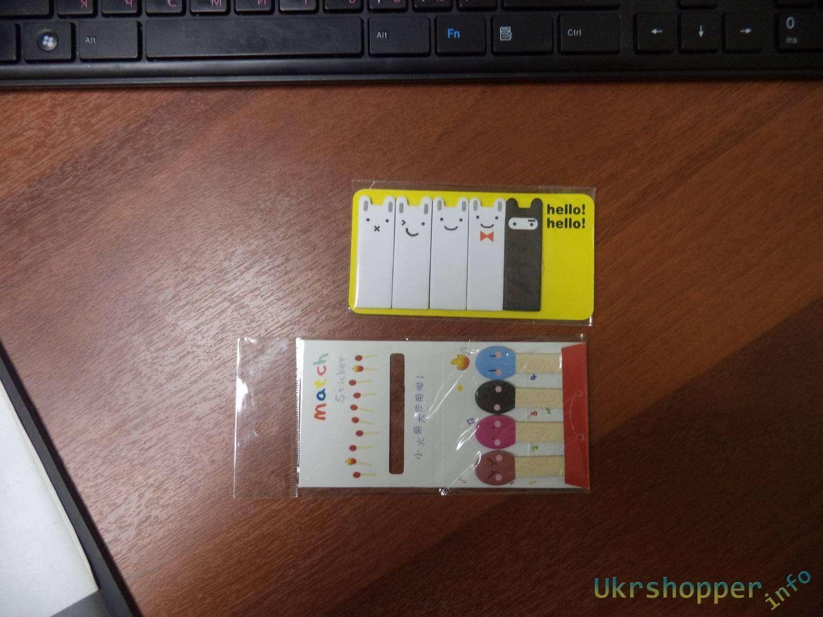 Ebay: Закладки-стикеры или забавная и, одновременно, полезная безделушка для бумажной работы