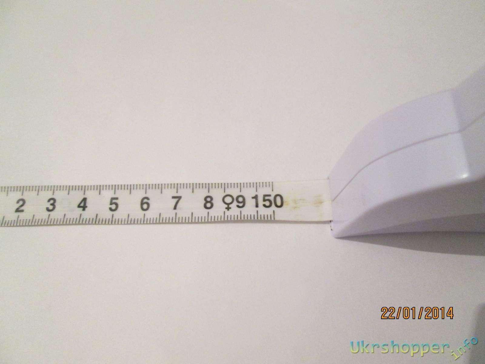 Ebay: Портняжная сантиметровая лента-рулетка.