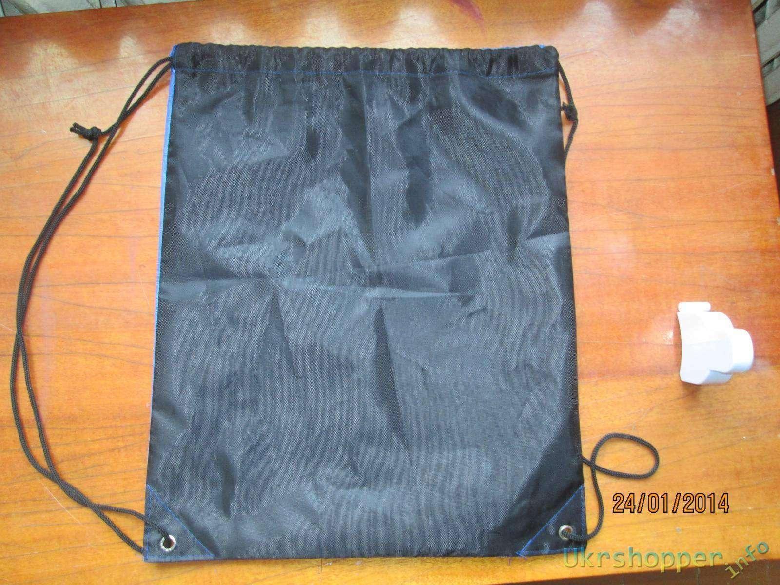 Ebay: Заплечная сумка без отделений