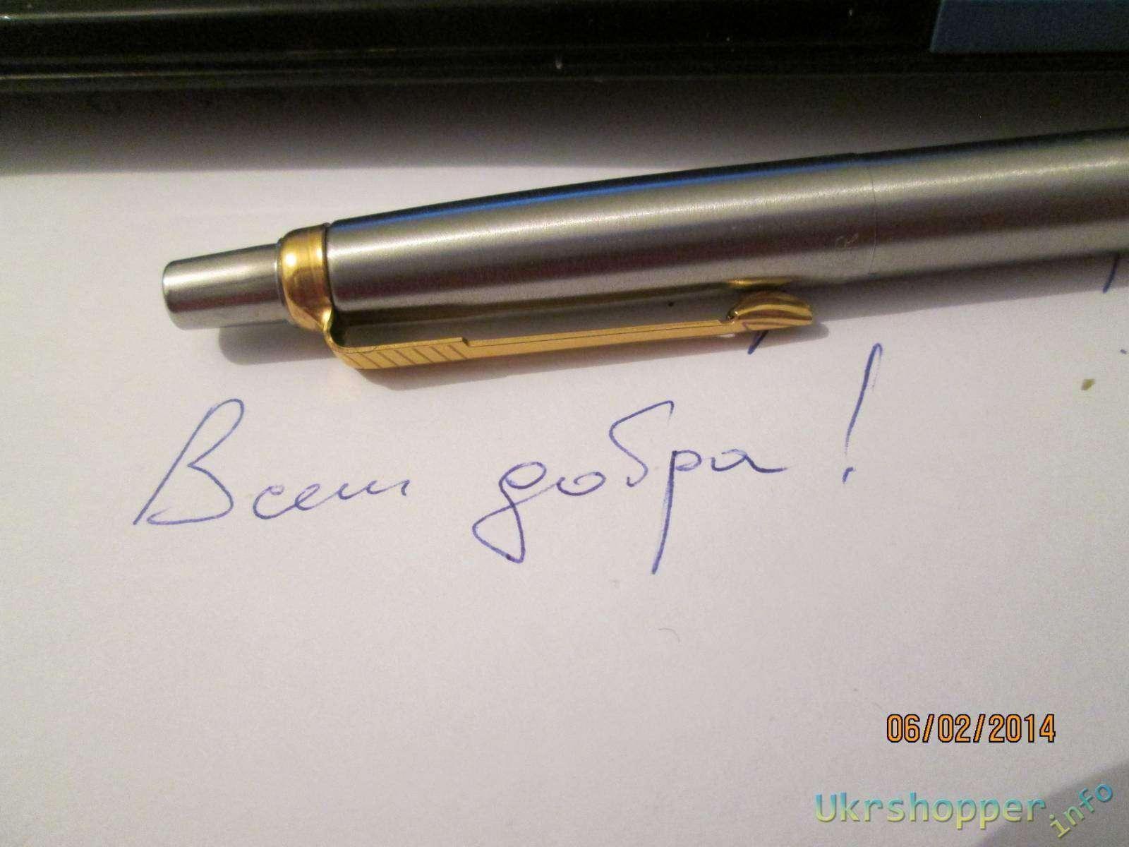 Ebay: Отличная копия шариковой ручки parker
