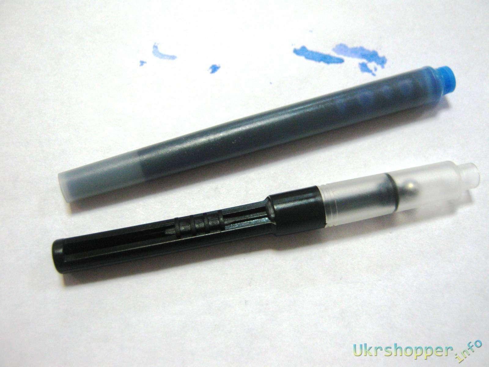 Ebay: Ручка-перо parker отличного качества.