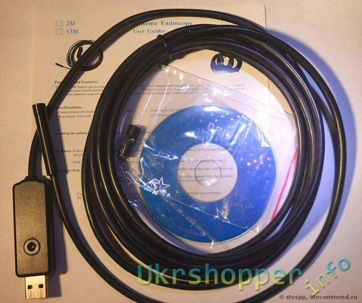 TinyDeal: 7mm Waterproof USB Home Endoscope