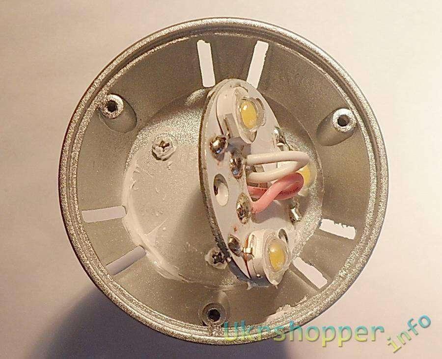 TinyDeal: E27 3W 240-270lumens AC 85-265V LED Lamp