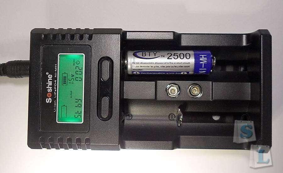 GearBest: Полуавтоматическое зарядное устройство Soshine SC-H2 V2