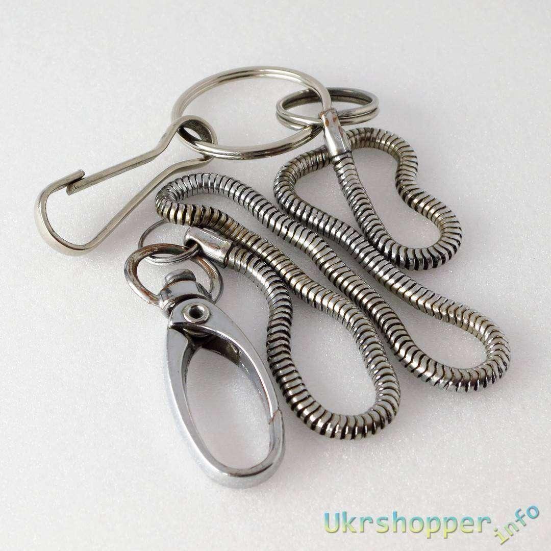 TinyDeal: Что ЭТО у мужчины НИЖЕ ПОЯСА ВИСИТ? или Multi-Functional Metal Retractable Badge Reel Buckle Fastener with Key Ring & Back Clip