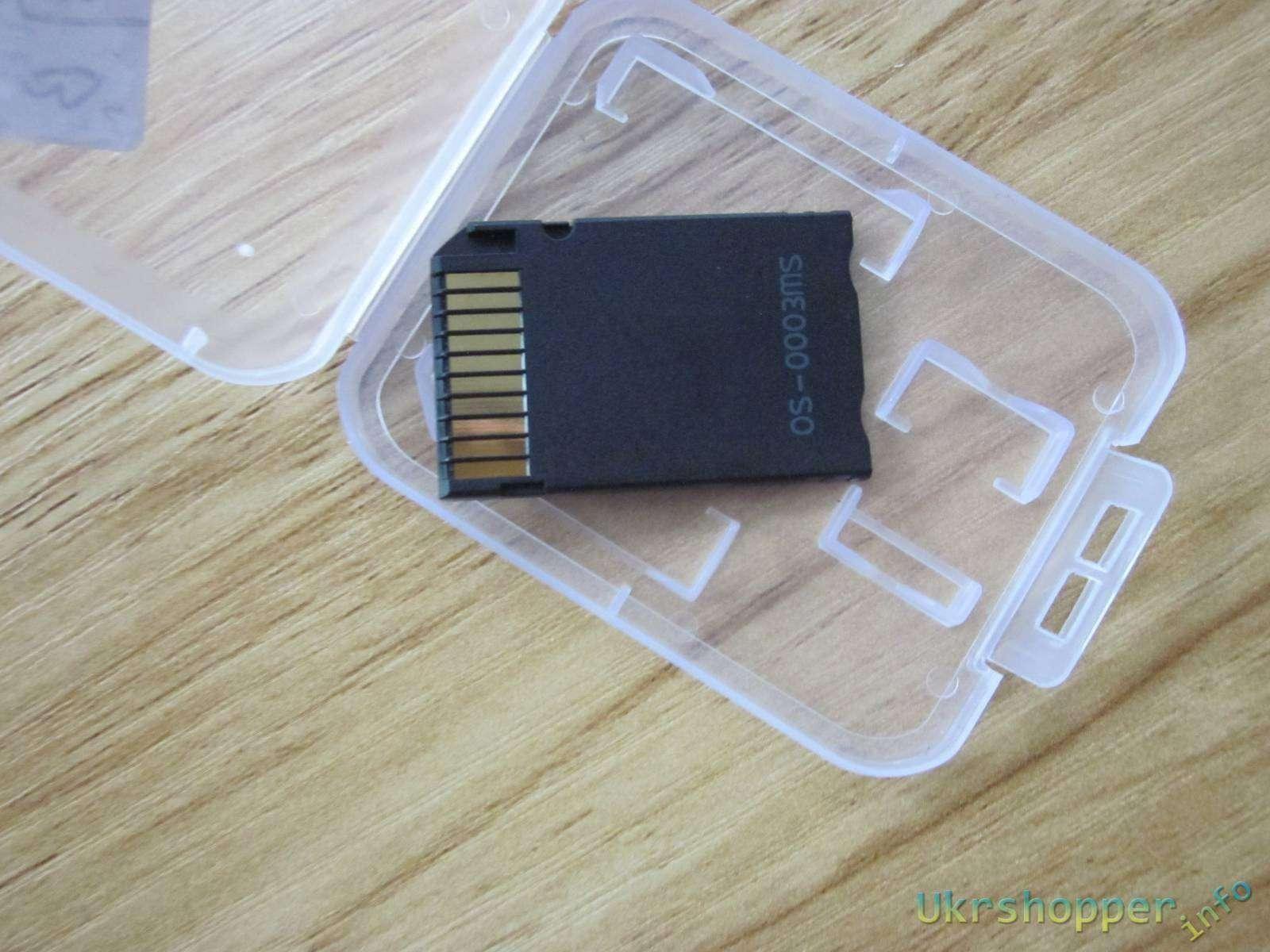 Aliexpress: Переходник для microSD в формфактор MS Pro Duo