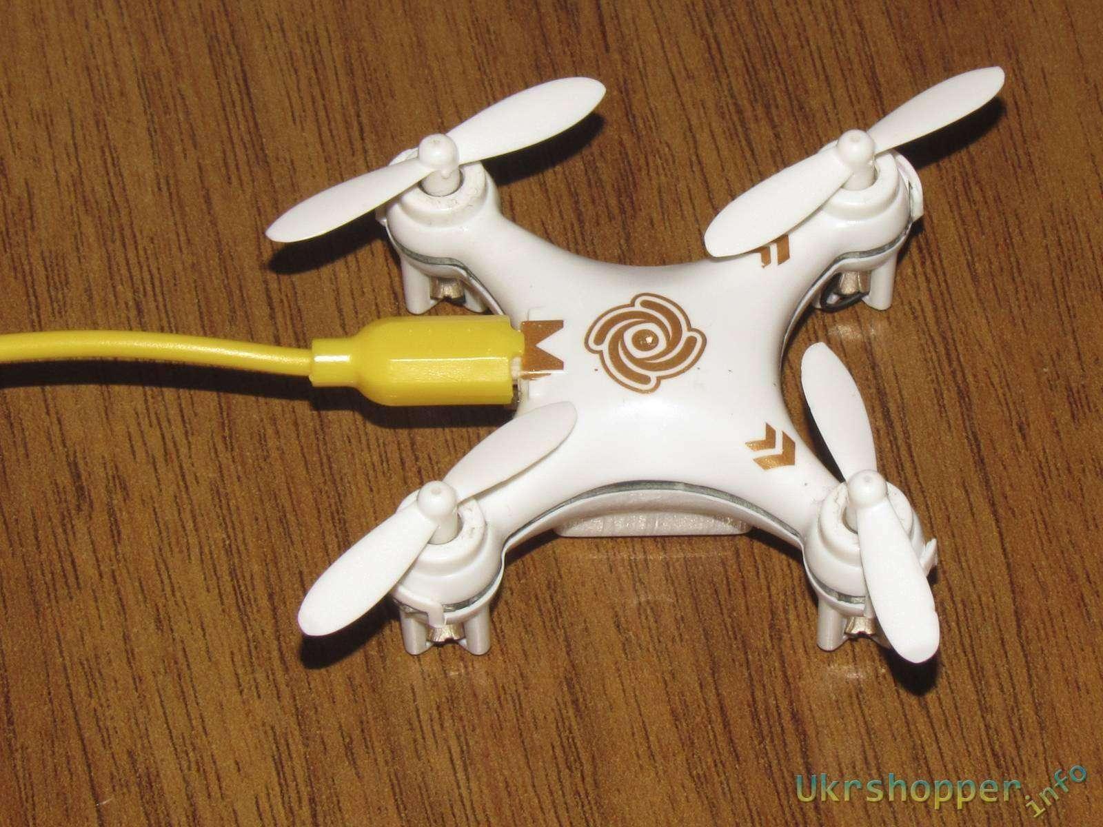 Banggood: Обзор крохотного квадрокоптера Cheerson CX-10A
