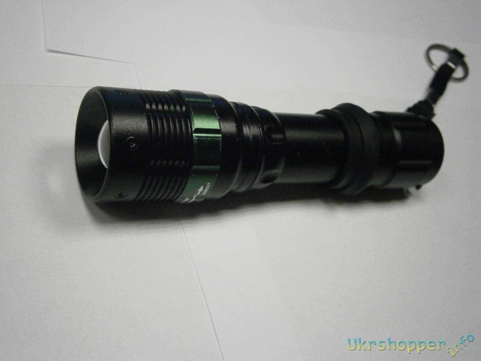 Tmart: Фонарик с зумом на диоде Q5 180 lumen UltraFire