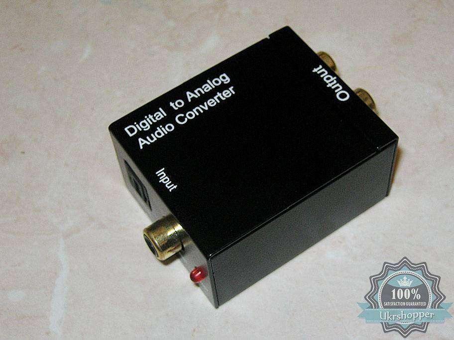 DealExtreme: Конвертер S/PDIF в аналоговый стерео-сигнал.
