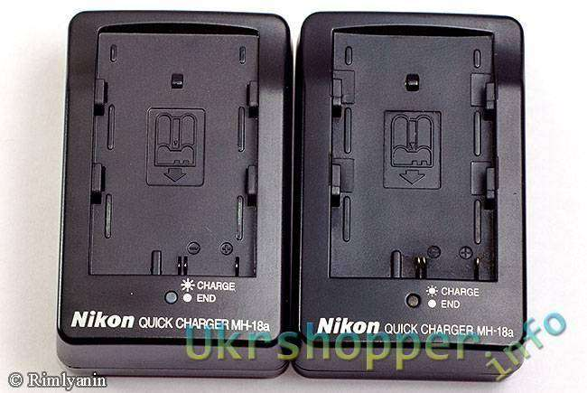 Aliexpress: Копия зарядки Nikon MH-18a