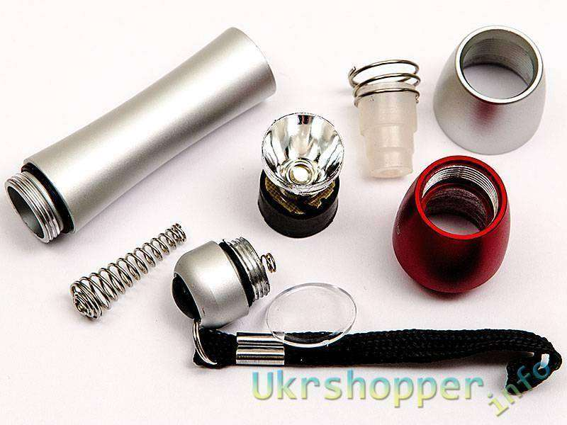 DealExtreme: Светодиодный фонарик «Лес Тигра» SLH-H601 :)