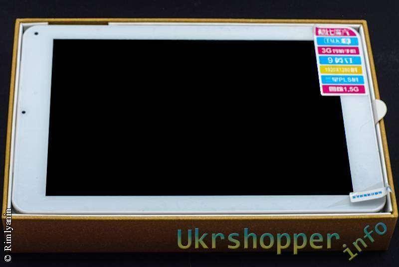 DealExtreme: 9-дюймовый планшетофон Cube U39 Talk9 3G