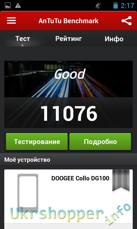 DealExtreme: Бюджетный смартфон DOOGEE Collo DG100.
