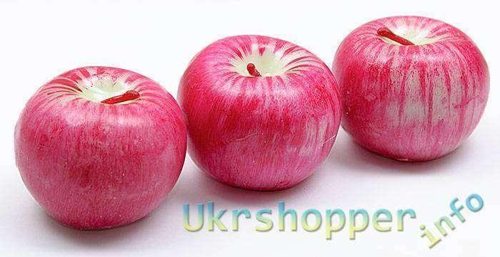 DealExtreme: Свечи в виде яблок, для дополнения романтического настроя.