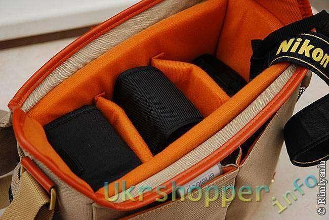 DealExtreme: Фотосумка-портфель защитного цвета.