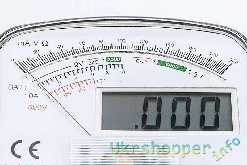 DealExtreme: KT7030 - Цифровой мультиметр с аналоговой шкалой.