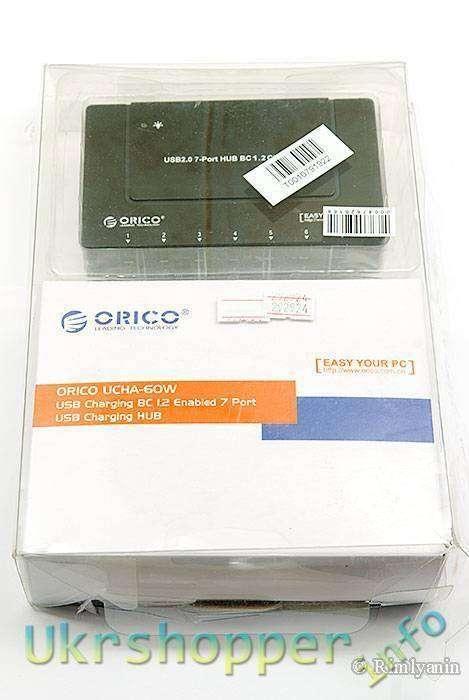DealExtreme: 7ми портовый USB charging hub ORICO UCHA-60W.