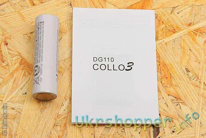 Другие: DOOGEE DG110 COLLO3 - обновленная модель бюджетного телефона.