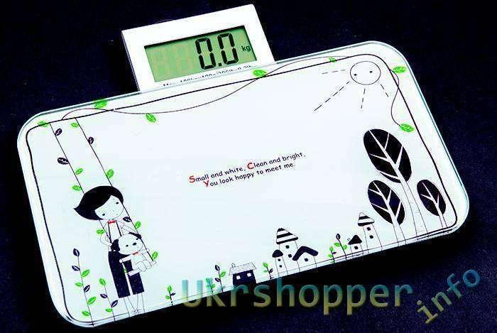 DealExtreme: Напольные миниатюрные электронные весы.