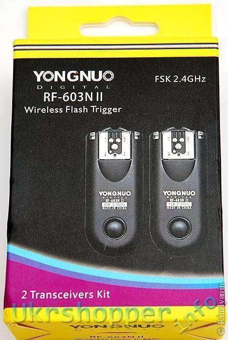 DealExtreme: YONGNUO RF-603NII. Вторая версия популярных радиосинхронизаторов.
