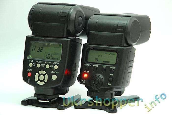 DealExtreme: VILTROX JY620N - недорогая фотовспышка для Nikon с поддержкой TTL и CLS.