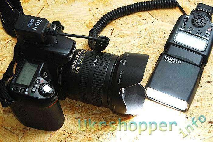 TinyDeal: TTL-кабель для Nikon.