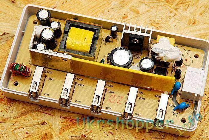 DealExtreme: Зарядка ORICO DCH-5U. 5*USB.
