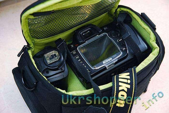 DealExtreme: Недорогая фотосумка для зеркалки начального уровня.