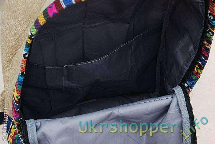 DealExtreme: Рюкзак в этническом стиле.