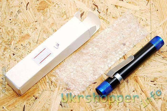 DealExtreme: Недорогой (US,95) фонарик на 1 х ААА из магазина dealextreme