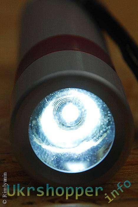 DealExtreme: И снова не дорогой фонарик на 1 х АА из магазина dealextreme