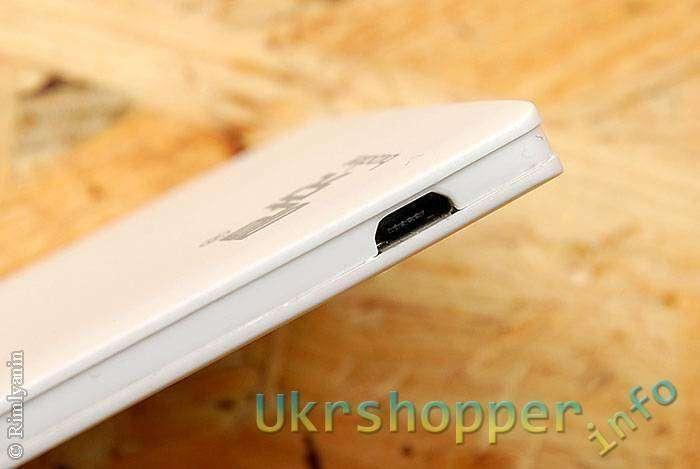 GearBest: Второй стильный тонкий белый повербанк, Buccker T26 2600mAh