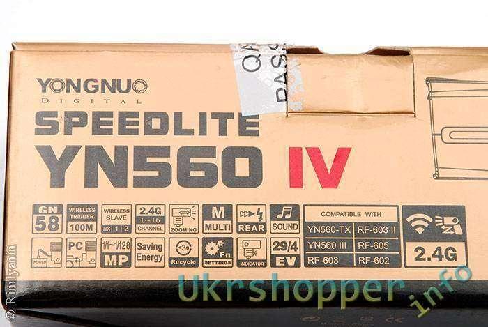 DealExtreme: Фотовспышка Yongnuo Speedlite YN-560IV