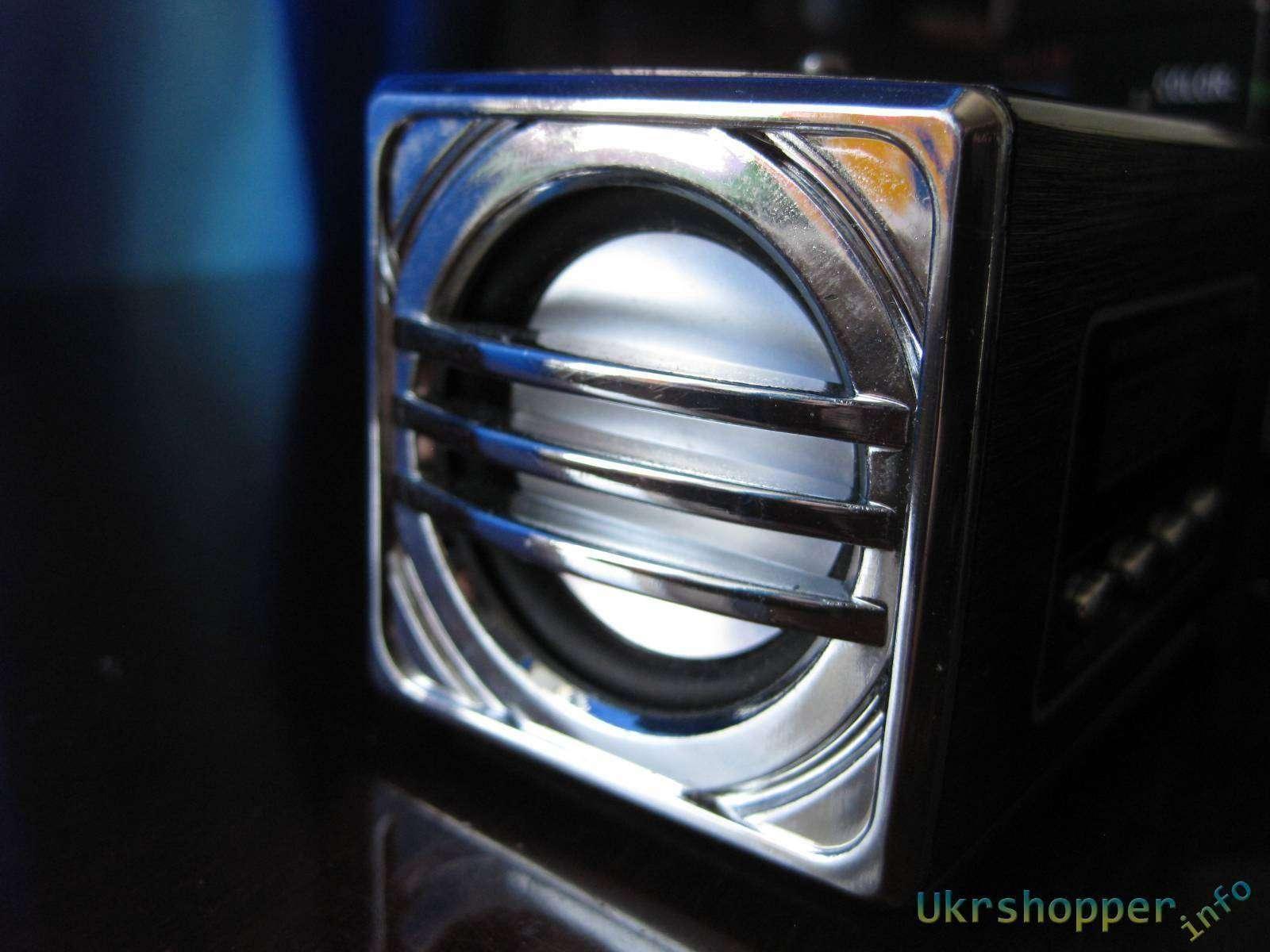 Aliexpress: Компактный и качественный спикер c FM радио
