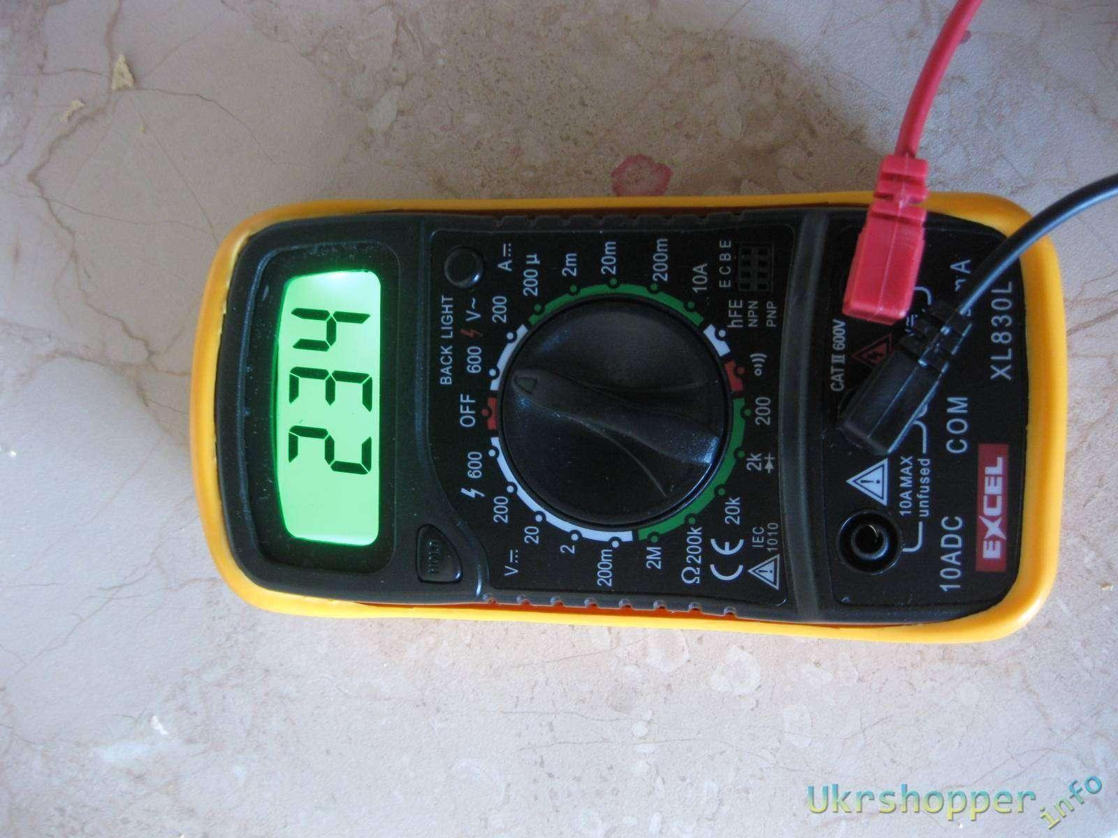 Tmart: Мультиметр Excel XL830L