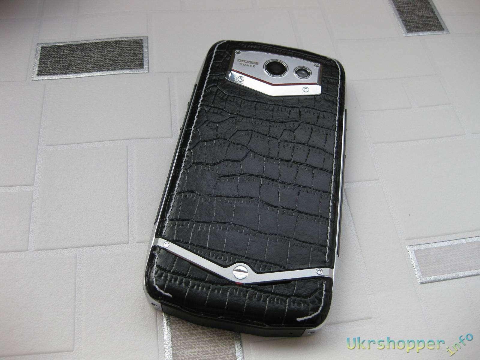 Banggood: Doogee DG 700 Titans 2 - защищенный смартфон, обзор с crash тестом.