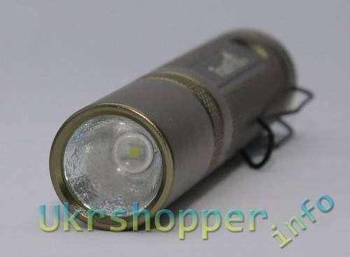 DealExtreme: Обзор светодиодного фонарика Trustfire F20