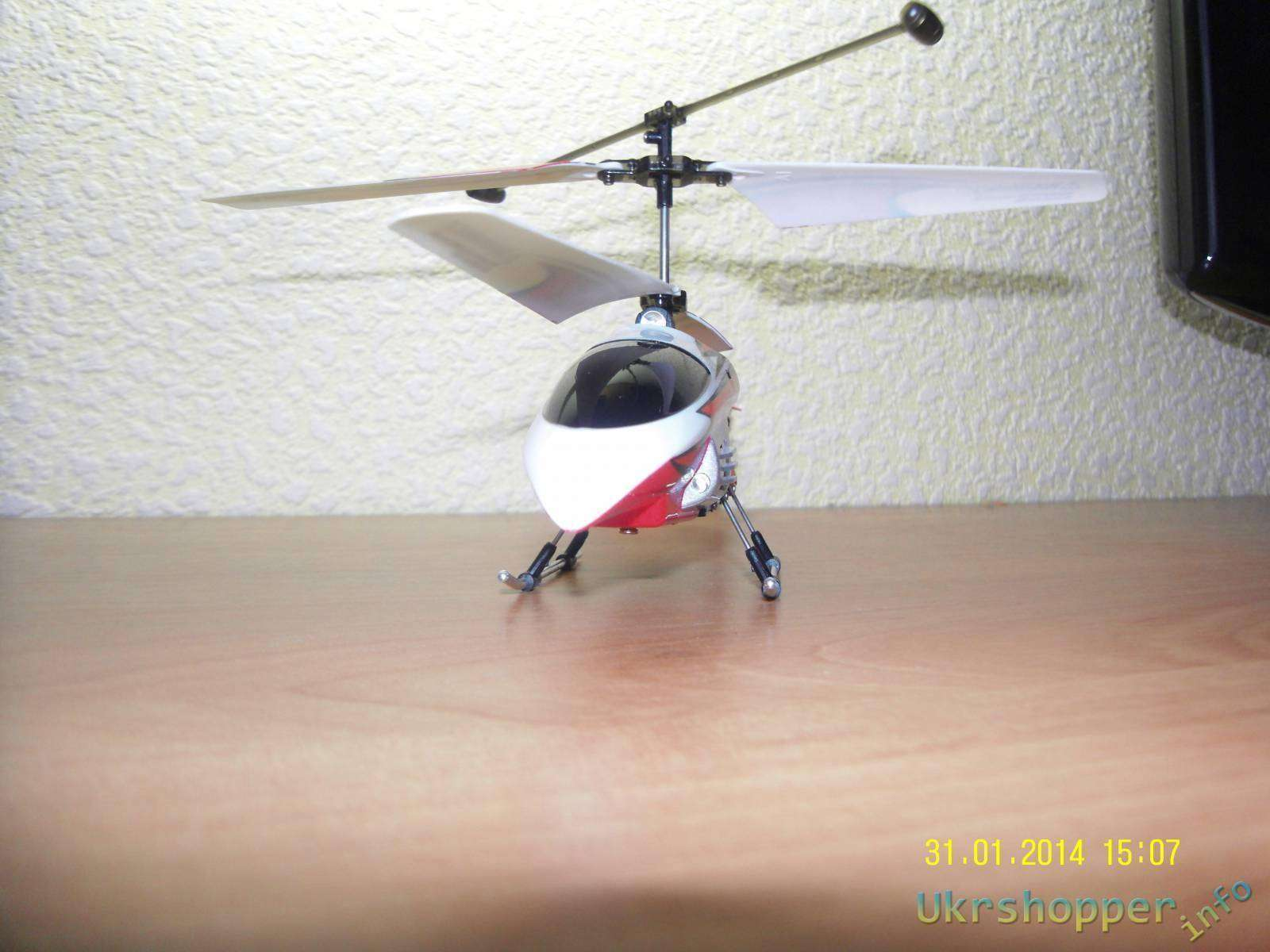 Tmart: Радиоуправляемый вертолет за недорого - FH 8018 3.5 Channel 2.4GHz RC Helicopter (Red)