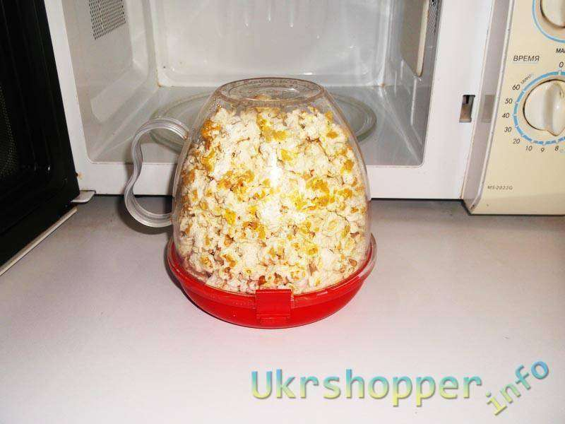 Tmart: Устройство для приготовления попкорна в микроволновке