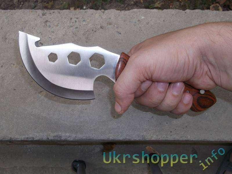 GearBest: Туристический нож со сменными лезвиями