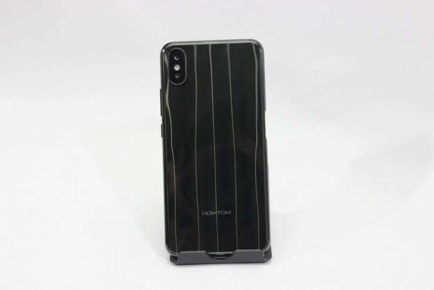 AliExpress: HomTom H10: недорогой смартфон с 4+64 ГБ памяти, градиентной «спинкой» и боковым сканером отпечатков пальцев