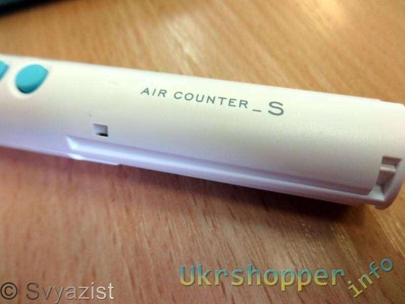 Ebay: Бытовой дозиметр из Японии: Air Counter S