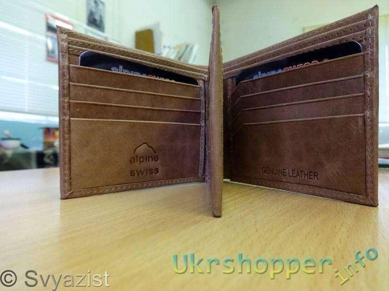 Ebay: Немаленький мужской бумажник «Alpine Swiss»