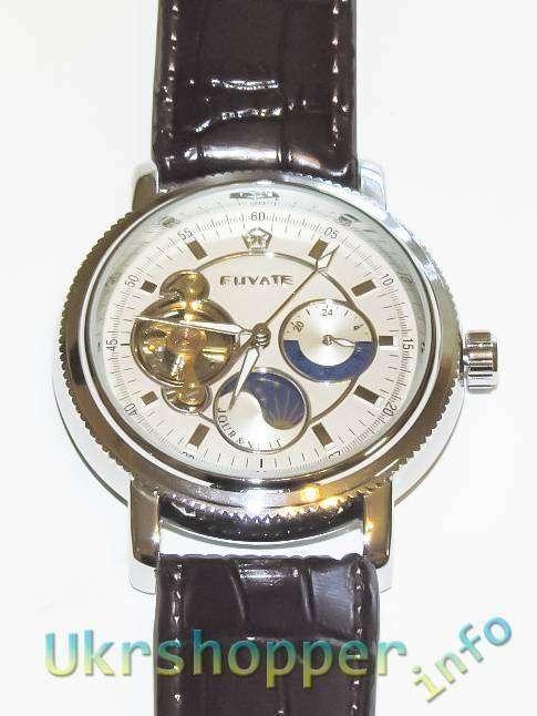Aliexpress: Обзор механических часов с автоподзаводом FUYATE FUY002