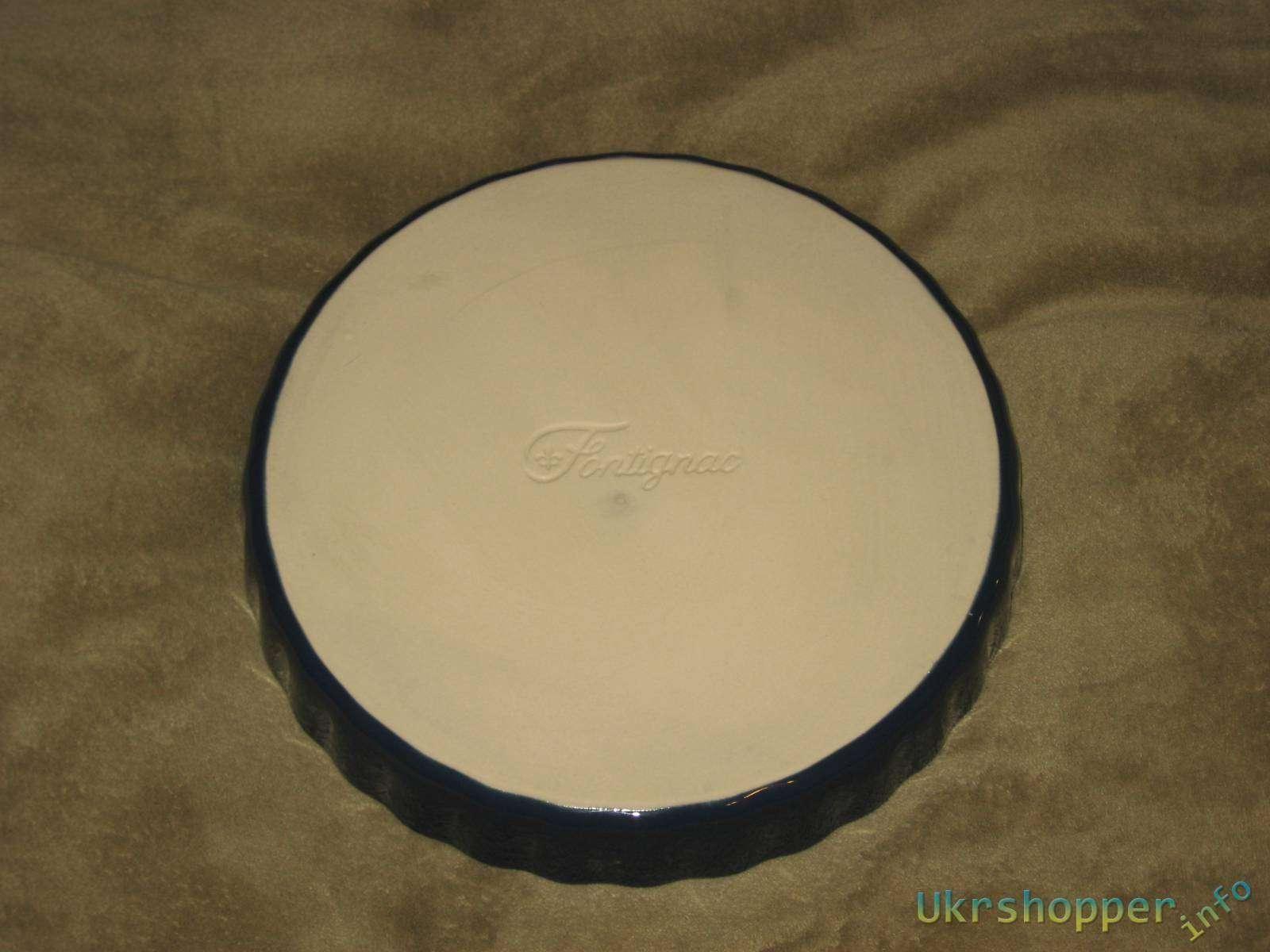 Сильпо: Круглая керамическая форма для тортов, ø 28 см Fontignac
